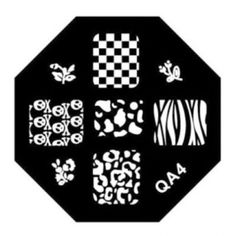 Designs Surface Template Nail Art Plates QA Series Type Code QA04 * You can find out more details at the link of the image.