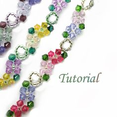 Beading Tutorial Pattern  Beaded Floral Concerto Flower