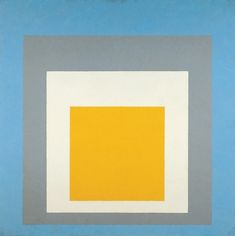 dappledwithshadow:  Homage to the Square: Ascending, Josef albers 1953