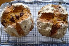 A Trifle Rushed: Ballymaloe Soda Bread - Spotted Dog and Stripy Cat