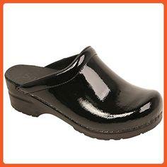 Sanita Womens Sonja Patent, Black, 38 Medium (450447-2) - Boots for women (*Amazon Partner-Link)