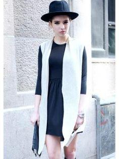 New spring retro sleeveless knit vest