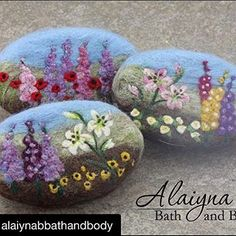 felted cold process soaps                                                       …