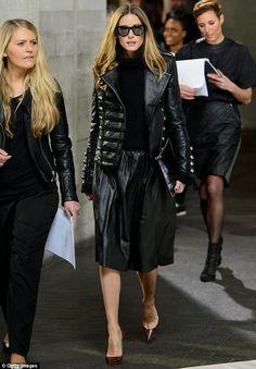 THE OLIVIA PALERMO LOOKBOOK By Marta Martins: London Fashion Week 2014 : Olivia Palermo at Pringle Of Scotland