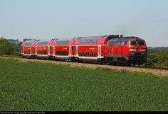 RailPictures.Net Photo: 218 422-4 DB AG V 218 at Mühldorf/Obb., Germany by Rupprecht v. Gersdorff