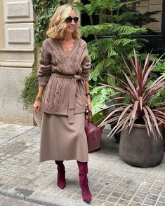 Street Style Summer, Summer Wear, Knit Cardigan, Spring Outfits, Fashion Looks, Style Inspiration, Knitting, My Style, Womens Fashion
