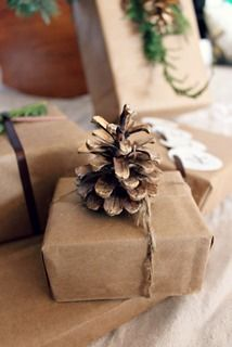 Amelia Marie: Simple gift wrapping #giftgiving #gifts #wrapping #giftwrapping
