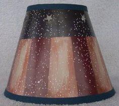 Thumbnail of RUSTIC AMERICANA Paper Mini Chandelier Lamp Shade