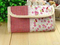 Accordion Clutch Wallet Purse Tutorial sewing pattern