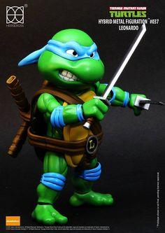 Herocross - Hybrid Metal Figuration - Teenage Mutant Ninja Turtles - Leonardo