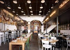 Mercat restaurant by Concrete Amsterdam 02 Mercat restaurant by Concrete, Amsterdam