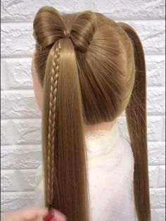 Easy Hairstyles For Long Hair, Pretty Hairstyles, Girl Hairstyles, Hairdo For Long Hair, Girl Hair Dos, Hair Up Styles, Hair Videos, Hair Hacks, Hair Beauty
