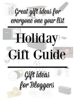 Great gifts for everyone on your gift list, for Christmas or the whole year through. Gifts For Bloggers.