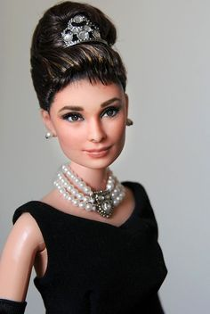 This is Noel Cruz. He gives Barbies makeovers... They are stunning.