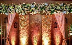 backdrop for any occasion Decor Decor Best Decorators Best Wedding Planners Engagement Decorations, Backdrop Decorations, Wedding Flower Decorations, Festival Decorations, Light Decorations, Wedding Ideas, Wedding Mandap, Wedding Stage, Wedding Backdrops