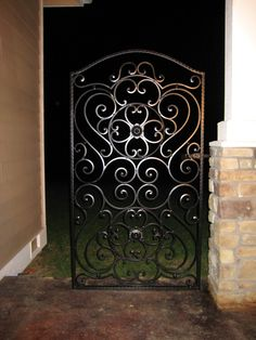 Majestic Gate--Here's a great classic wrought iron gate we designed for the 2009 Show.