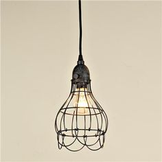 No reviews yet! PRINTABLE VERSION PREVIOUSNEXT  Size & Color  Options    Aged Iron  Industrial Cage Work Light Pendant