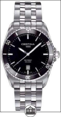 Certina C014.410.11.051.00 - Reloj de pulsera hombre, acero inoxidable, color plateado  ✿ Relojes para hombre - (Lujo) ✿