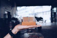 Make Models / Concept Model / Mahogany Timber / Acrylic / Grimshaw