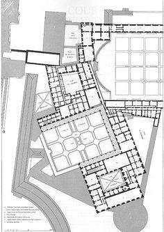 Le Vatican et la basilique de Saint-Pierre de Rome de Paul Letarouilly - Palazzo Apostolico - Third floor
