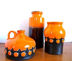 Vintage West German Pottery Collection Jasba at HotCoolVintage