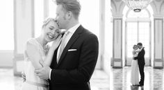 adorable black and white pictures of smitten newlyweds by Hanna Witte