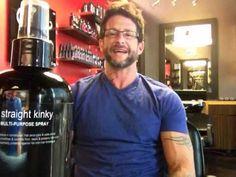 'STRAIGHT KINKY'....!!!  www.laidbrand.com  #LAID brand #RockerStylist #David L. Hensley #Professional Hair Care #Pherottraction #Pheromones #LAID #HowTo #StraightKinky #Kinky