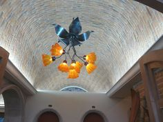 Boveda ceiling and hand crafted light Light Crafts, Maya, New Homes, Ceiling, House, Ideas, Lights, Home, Haus