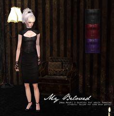 My Beloved: dresses by Bosie (GoS secret Santa gift)