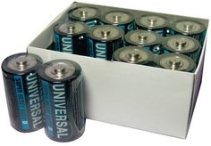 UPG - Super Heavy-Duty Battery Value Box (D; 12 pack) Case Pack 3