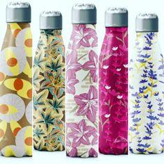 Designs available on patternbank Voss Bottle, Water Bottle, Patterns, Design, Block Prints, Water Bottles, Pattern, Models