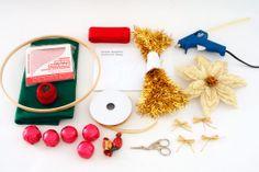 Guirlanda de balas e bombons - Portal de Artesanato - O melhor site de artesanato com passo a passo gratuito