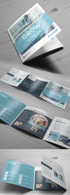 Design a stunning brochure in minutes. Get Brochure Design Services here. Showcase your business, products, and services when you create custom brochures. Visual Design, Layout Design, Graphisches Design, Booklet Design Layout, Layout Book, Design Ideas, Graphic Design Brochure, Brochure Layout, Brochure Template