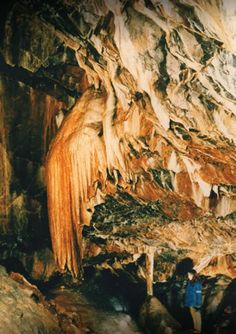 Mitchelstown Cave is located in Co. Tipperary at the foothills of the Galty Mountains