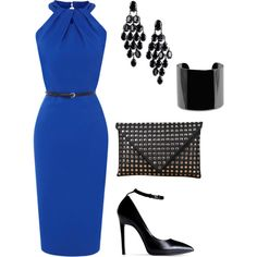 """""""Classy with a little edge."""" by LC on Polyvore"""