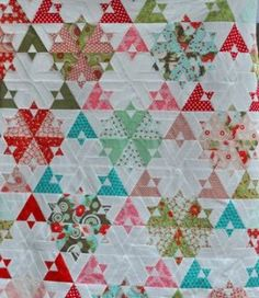 Heather of Quilt or Stitch? shares her excitement over this quilt top she made…