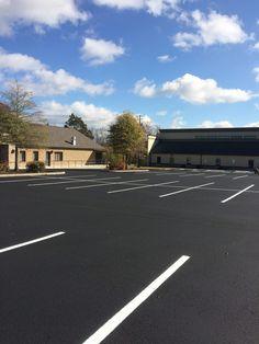 Pavement Sealcoating Paving Resurfacing and Parking Lot Striping Knoxville TN 865-680-9225