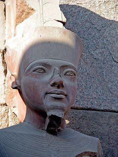 Tutankhamun, Karnak Temple, Luxor, Egypt