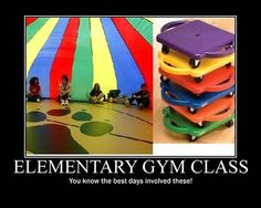 Omg remember these? The best gym days were the ones that involved these.