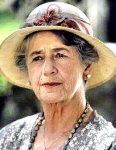 """Dame Peggy Ashcroft was awarded Best Supporting Actress for (""""A Passage to India"""") in 1984 as Aunt Hermina."""