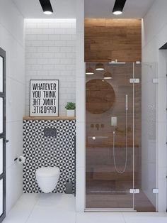Inspiration for bathroom furniture & accessories, modern vanity units, illuminated mirrors, bathroom wall sconces & pendants, plus decor colours and styles. furniture 51 Modern Bathroom Design Ideas Plus Tips On How To Accessorize Yours Bathroom Furniture, Gorgeous Bathroom Designs, Bathroom Makeover, Shower Room, Bathroom Interior, Simple Bathroom, Luxury Bathroom, Bathroom Decor, Small Bathroom Makeover