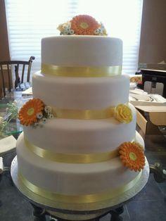 Sandy's Wedding Cake