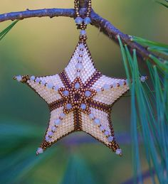 beaded by Nancy Dale, pattern by Helena Tang-Lim