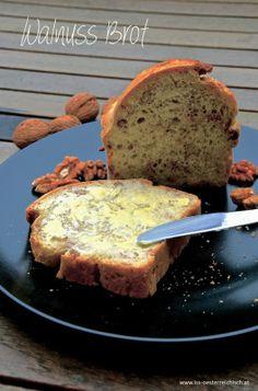 schnell zubereitet - mega lecker: das Ruck-Zuck Walnussbrot :)