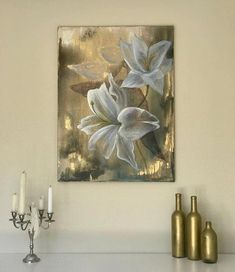 Lilly oil painting paint royal flowers Original oil painting: Lily 5070 cm oil painting canvas These flowers are signing for beauty royalty and self-confident. Strength and beauty in one place. The scent that enlightens. Oil Painting Flowers, Oil Painting On Canvas, Canvas Wall Art, Drawing Flowers, Flower Paintings, Oil Paintings, Indian Paintings, Abstract Paintings, Painting Art