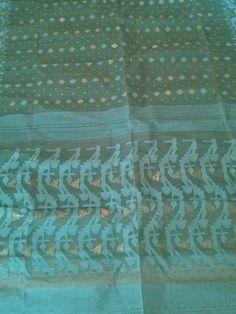 Dhakai Jamdani Saree/ Sari Bangladeshi Ethnic by EasternSequins, $145.00