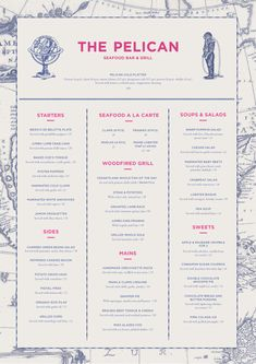 restaurant menu design typography Great restaurant menu designs communicate a restaurant's brand and drive profit. Here are 8 design tips for creating profitable restaurant menu designs. Restaurant Branding, Restaurant Menu Design, Restaurant Restaurant, Hotel Menu, Cafe Branding, Food Branding, Identity Branding, Visual Identity, Cafe Menu Design
