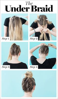 8 cool braids you can actually do on yourself ponytail badass and 8 cool braids you can actually do on yourself solutioingenieria Image collections