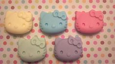 5 Hello Kitty soaps party favors bath birthday gift by BBSoaps, $5.50