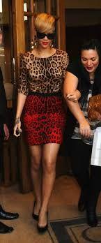 Rihanna in Dolce & Gabbana Two